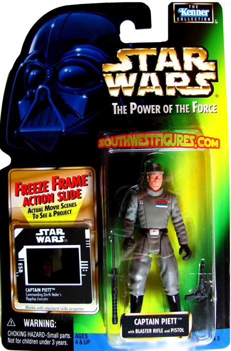 Lando General Gear 1997 Freeze Frame FF Power of the Force POTF Star Wars