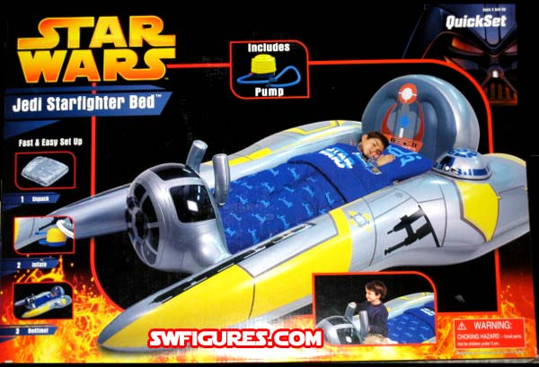 Star Wars Jedi Starfighter Inflatable Bed