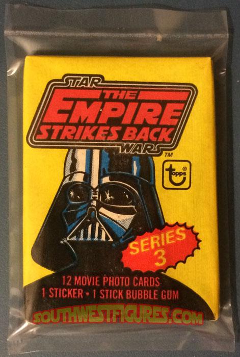 1980 Star Wars EMPIRE STRIKES BACK Series 1 Unopened Pack Verzamelingen