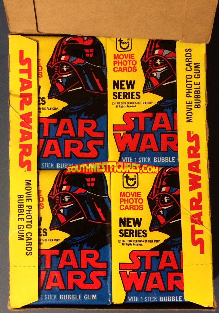 1980 Star Wars Empire Strike Back Series Two Movie One Factory Wax Pack 1