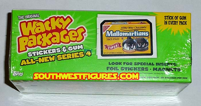 TOPPS Wacky Packages Series 2  2005 Factory Sealed Box 18 packs 6 stickers